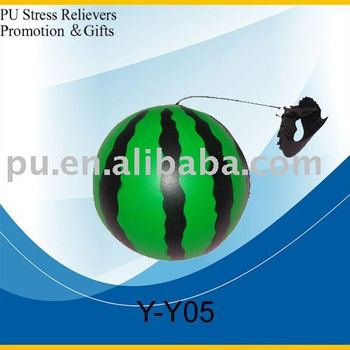 PU Yoyo-watermelon stressball