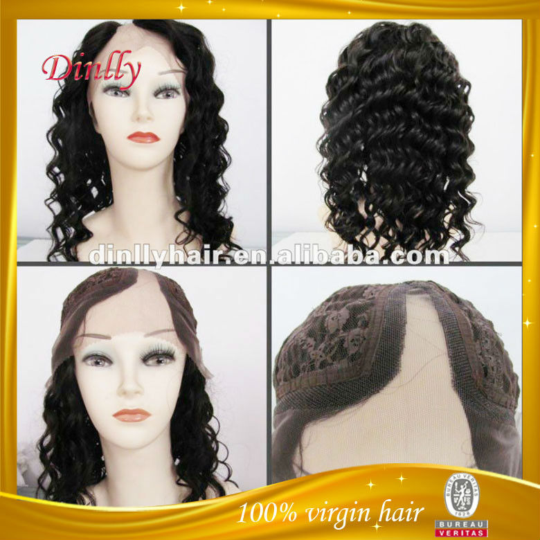Hot selling Excellent quality virgin human hair u-shaped wigs