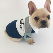 2018 china wholesale bulk pet accessories supply custom grey luxury cotton designer summer autumn dog clothes