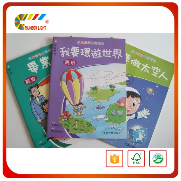 Top grade intelligence saddle stitching baby memory book printing from China