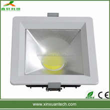 High brightness ceiling downlight fitting 20w 30w cob led down light 12w led shopping mall lighting
