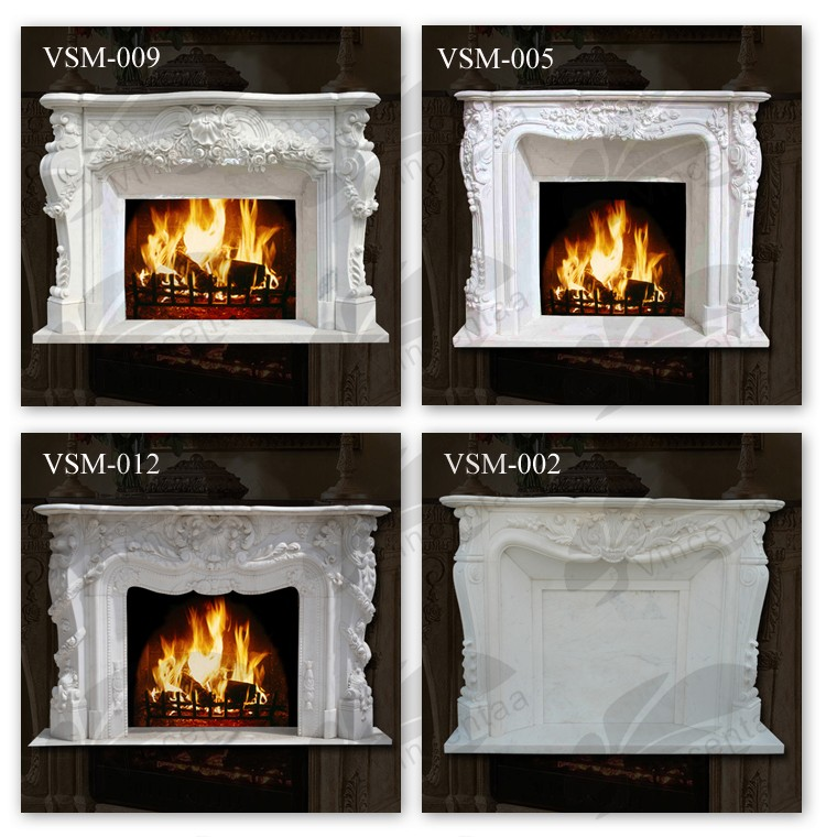 Bioethanol fireplace fireplace kits indoor electric marble for Indoor fireplace kits