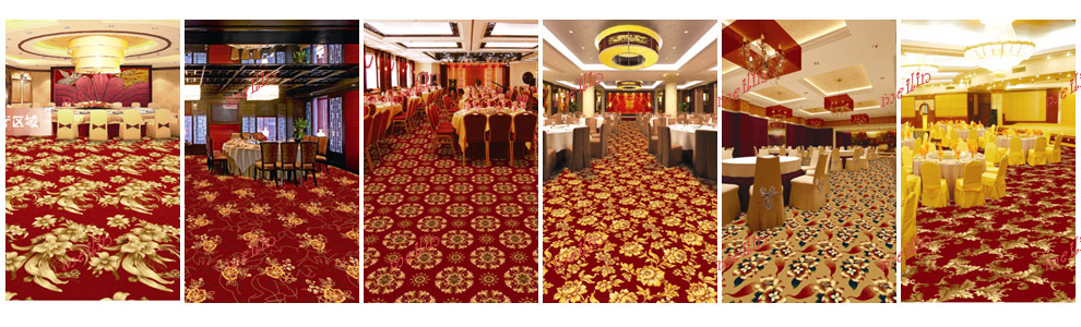 china axminster event & wedding red carpet