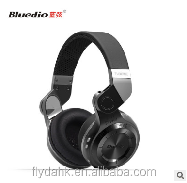 2016 Newest Stereo Bluetooth 4.1 Sport Headset Earphones Bluedio T2+ T2 Wireless Headphones For all mobile phone