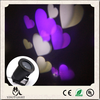 LED Projector Lights purple white Sparkling Landscape led wall projection light laser light forChristmas tree decoration US plug
