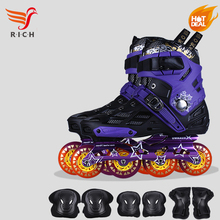 Adult Speed Inline Skate Boots Quad Skate Wheels for Sale