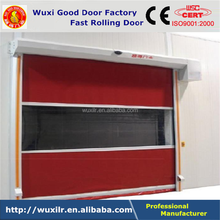 Warehouse Industrial High Speed Smart Automatic Roll-up Door With Radar Magnetic Loop