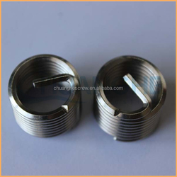 Factory supply high quality stainless steel 10-24 hexagonal sheet metal threaded inserts
