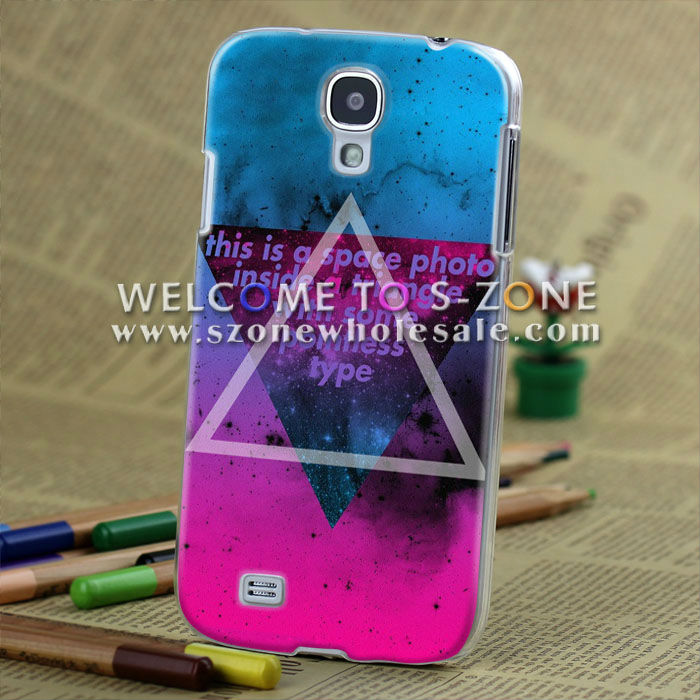 cool 3d case for galaxy s4 3d ( transparent side)