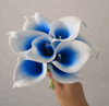 Colorful artificial calla lily flower
