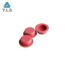 As Customer's Drawing Precision Custom Red Silicone Rubber Handle Cover