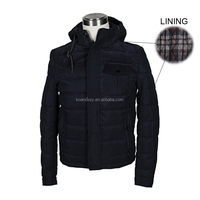 2016 Winter Waterproof Windproof Breathable Softshell Cotton Jackets for Men