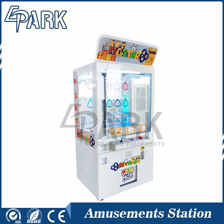 2016 Popular Key Master Toy Vending Arcade Simulator Game Machine for Sale