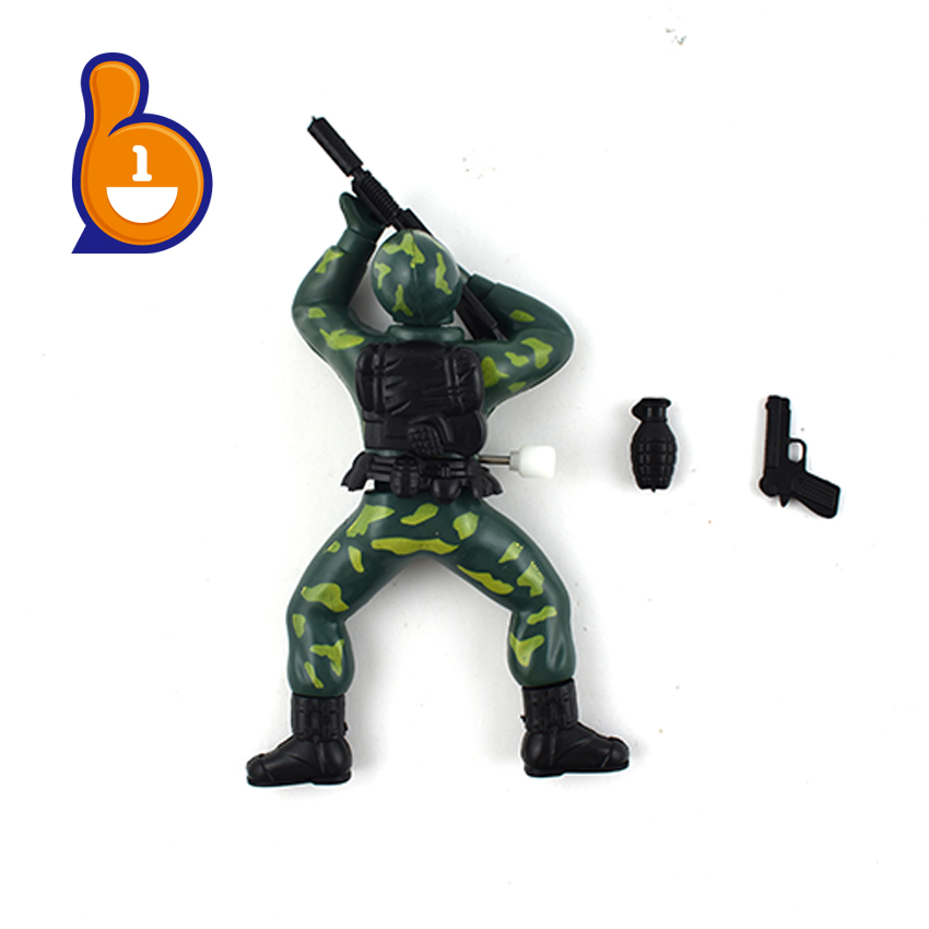 children funny crawling soldier toy mini plastic toy soldiers for wholesale