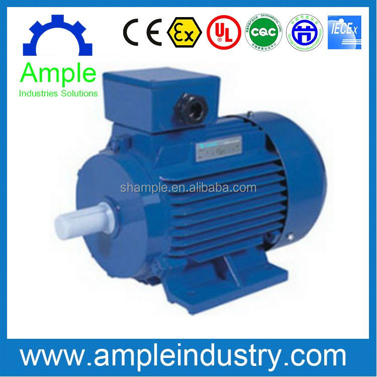 YE2 three phase squirrel cage ac induction electric motor