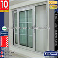 European Standard Aluminum Sliding Window With Decoration Grid Between Glass
