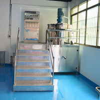 Stainless steel stirrer machine, chemicals for making shampoo liquid soap