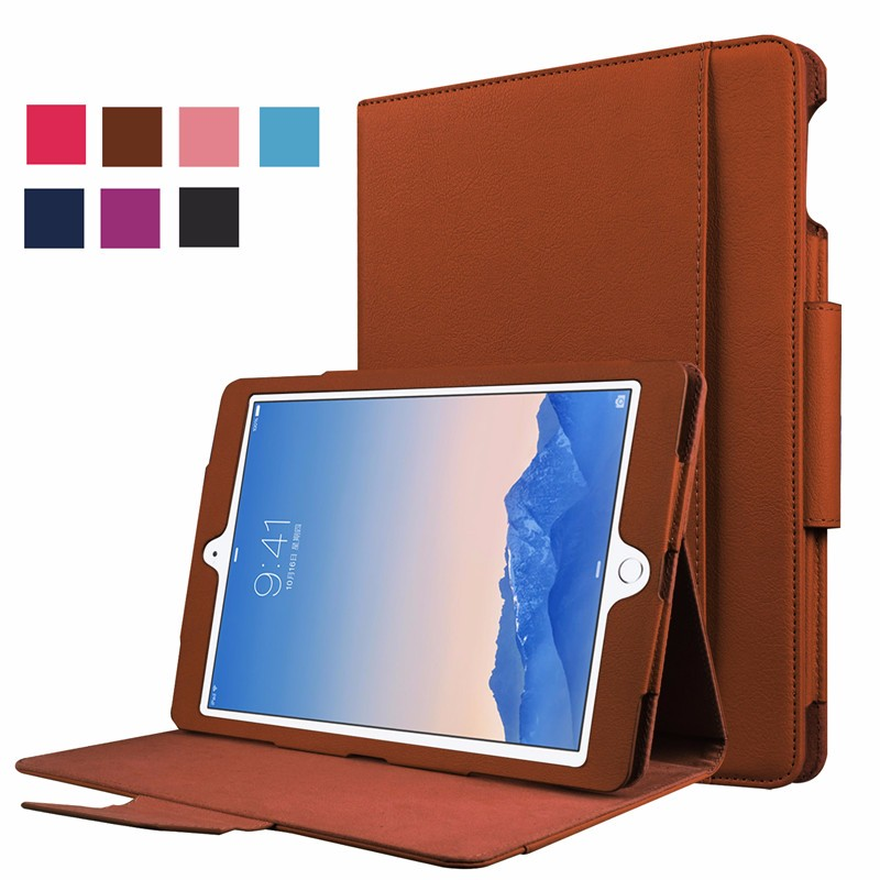 360 Full Protect Retro Business Style Folio Leather Case for iPad Pro 9.7,for iPad Pro 9.7 cover