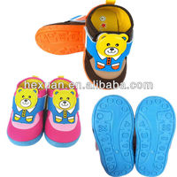 new style kid shoe korean design hot sale baby shoes rubber sole