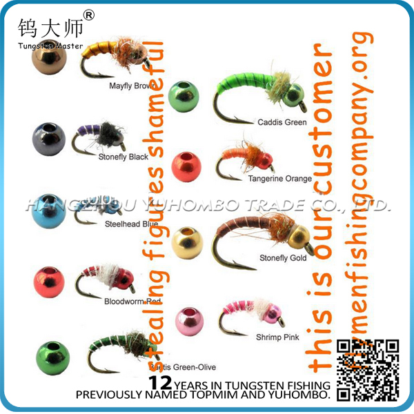 Professional Made High End tungsten beads fly fishing