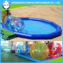 2017 Customized Colored Inflatables Water Walking Ball With Pool