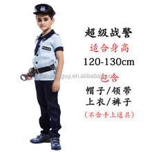 halloween children kids police costume