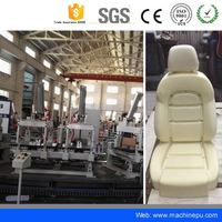 Factory sell Polyurethane low pressure foaming machine Car Seat production line for car seat