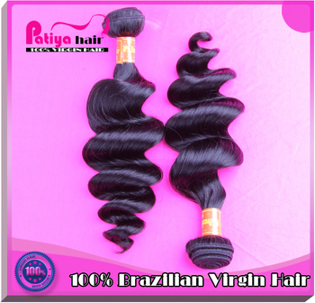 Best Seller Guangzhou Patiya hair products 10 to 30 inch Cheap loose wave weft AAAAAA aunty virgin Brazilian Hair
