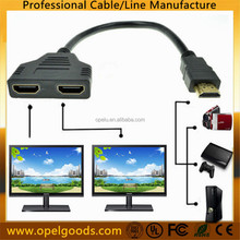Wholesale 2 in 1 HDMI Male to 2 HDMI Female 1 out HDMI Splitter Cable