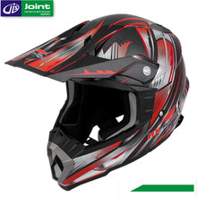 ECE / DOT Motorcycle Full Face ATV Red Helmet