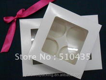 6pc cupcake box New products on china market packaging cupcake box-6cm