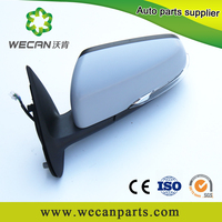 chinese original auto spare parts baojun 610 left outside rear view mirror glass for chevroelt wuling changan sokon chery