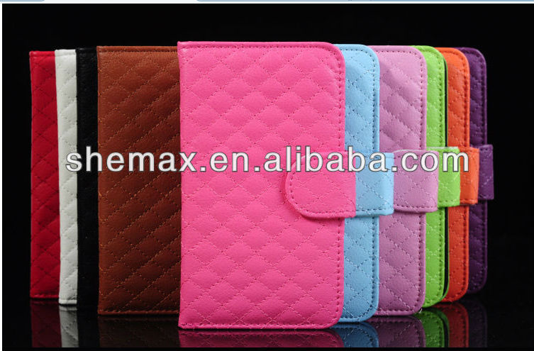 2015 Hot Selling Leather Wallet Flip Case Cover For Samsung Note 2 N7100