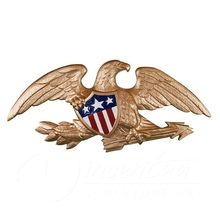 High Quality Bronze Eagle Wall plaque Made in China