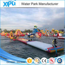 Prices Giant Island Water Slide Toys Floating Inflatable Water Park Games For Sale