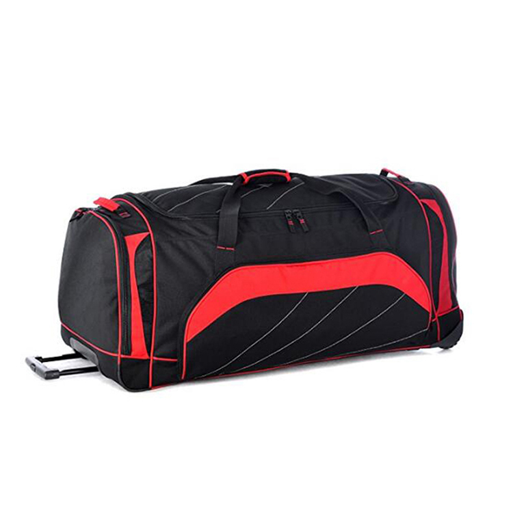 Fashion Travel Bag Foldable waterproof Duffel Bag with Wheels