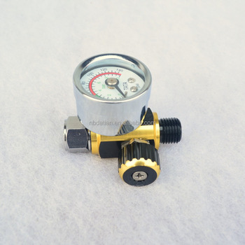 New Air Line Control Compressor Pressure Gauge Relief Regulating Regulator pressure regulator spray gun regulator