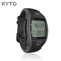 KYTO original finger touch heart rate and calorie step sport watch