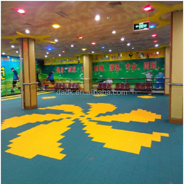 flooring tile specially design for indoor and outdoor sport courts /multipurpose sport surfaces/aerobic flooring