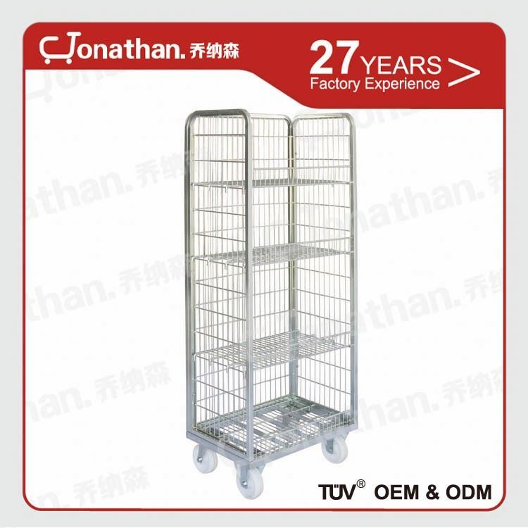 Supermarket warehouse hotel housekeeping maid cart trolley
