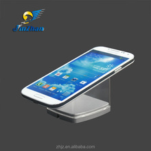 acrylic smartphone stand desktop stand for cell phone with anti-slip silicone