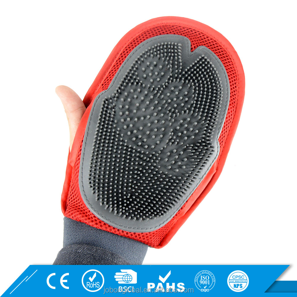 Dog Bathing Brush Hair Deshedding Tools Pet Glove