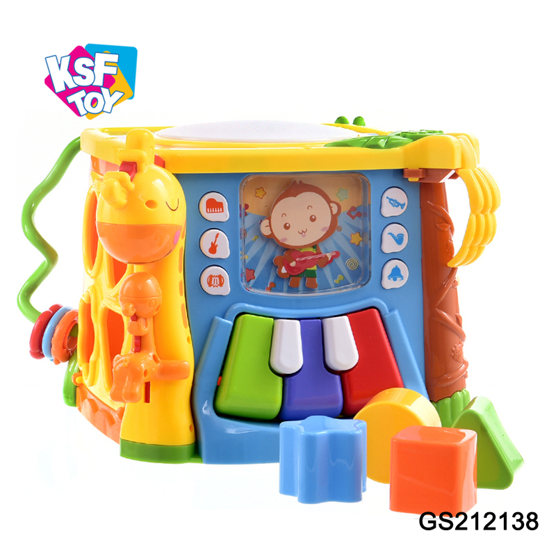 children multifunctional kids play set baby toys education with sound
