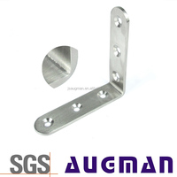Custom 90 degree table frame angle metal stainless steel corner bed leg brackets