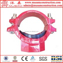 Plastic coated fire fighting 3 way mechanical wire connector