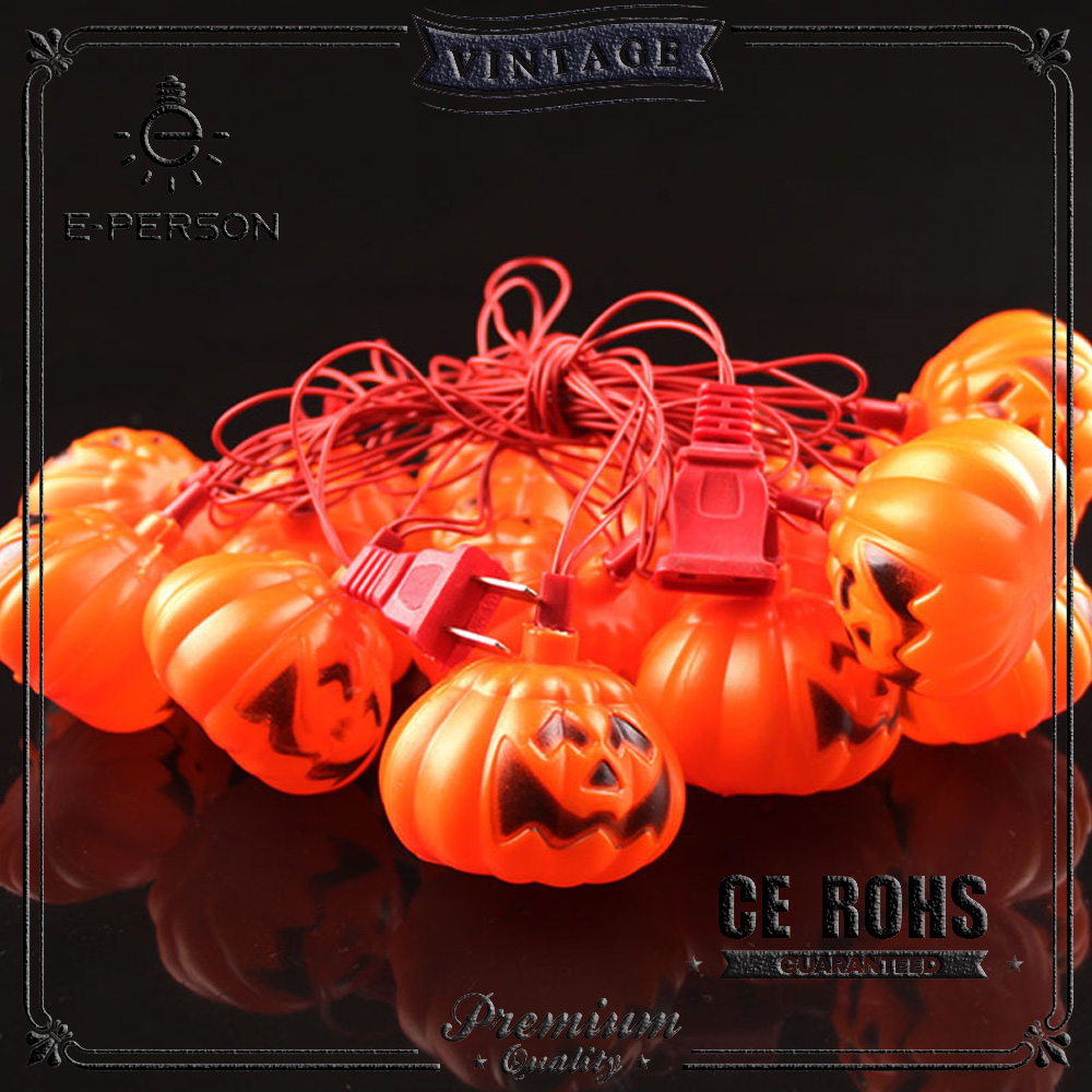 Outdoor lighting pumpkin String lighting halloween pumpkin lamp