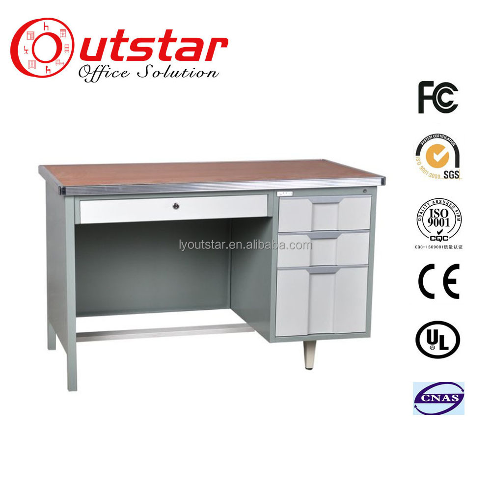 Commercial office desk with computer designs
