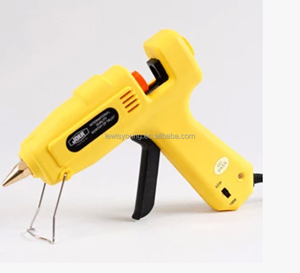 Hot melt glue gun for wax seal sticks simple use blue white yellow