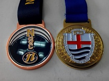 Custom sport medals as award for football or swimming match with air freight discount paid by paypal
