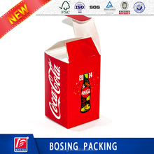 Customized Recyclable Brown/White Hard Corrugated Paper Jumbo Cube Box